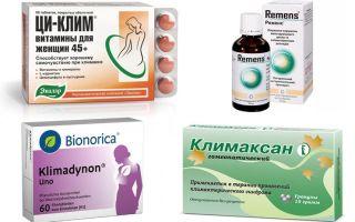 Какие негормональные препараты принимать при климаксе
