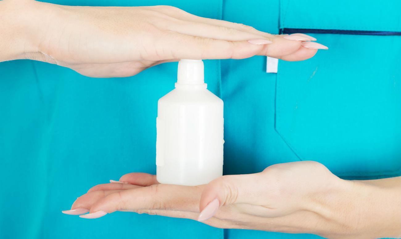 Подмывание перекисью при молочнице