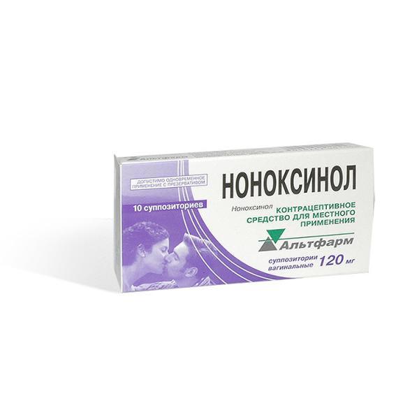 Контрацептивы свечи Ноноксинол показания и противопоказания