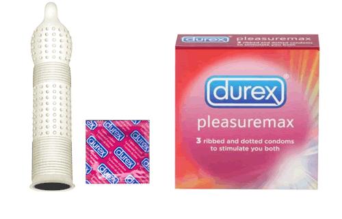Durex с ребрами и пупырышками