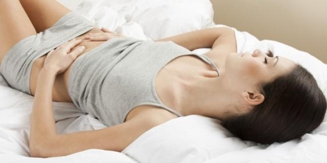 Боль внизу живота при молочнице