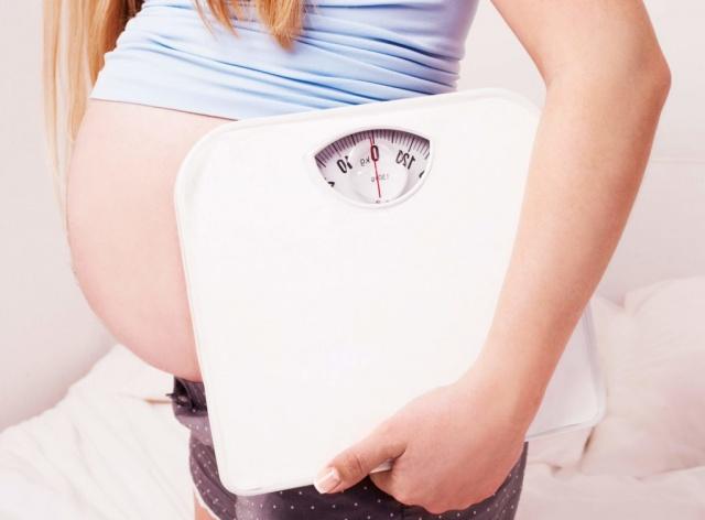 Уменьшение веса при беременности